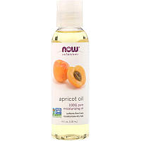 """Абрикосовое масло NOW Foods, Solutions """"Apricot Oil"""" чистое (118 мл)"""
