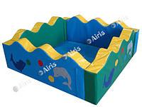 Сухой бассейн Волна Airis, разные размеры, фото 1