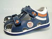 Закрытые кожаные сандалии Bi&ki., фото 1