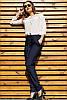 Джинсовые облегченные брюки Радмила 48-60рр, фото 6