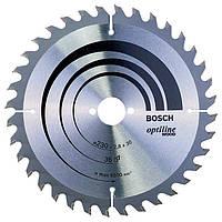 Пильный диск по дереву Bosch Optiline Wood 230 мм 36 зубов (2608640628)