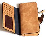 Клатч кошелек Balleri,светло коричневый , фото 2