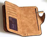 Клатч кошелек Balleri,светло коричневый , фото 4