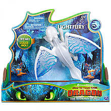 Как приручить дракона 3: Дневная Фурия музыка+свет / How to Train Your Dragon: Lightfury Deluxe Dragon