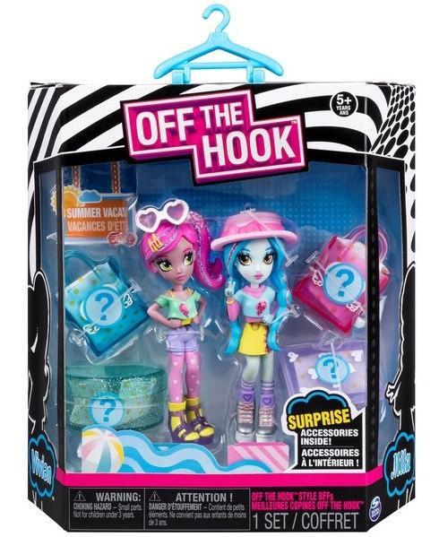 """Off the Hook:набор из двух стильных кукол (серия """"Летний отдых"""") SM74301/0045"""