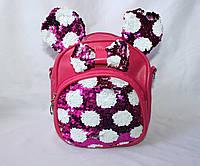 Рюкзак-сумка с пайетками, фото 1