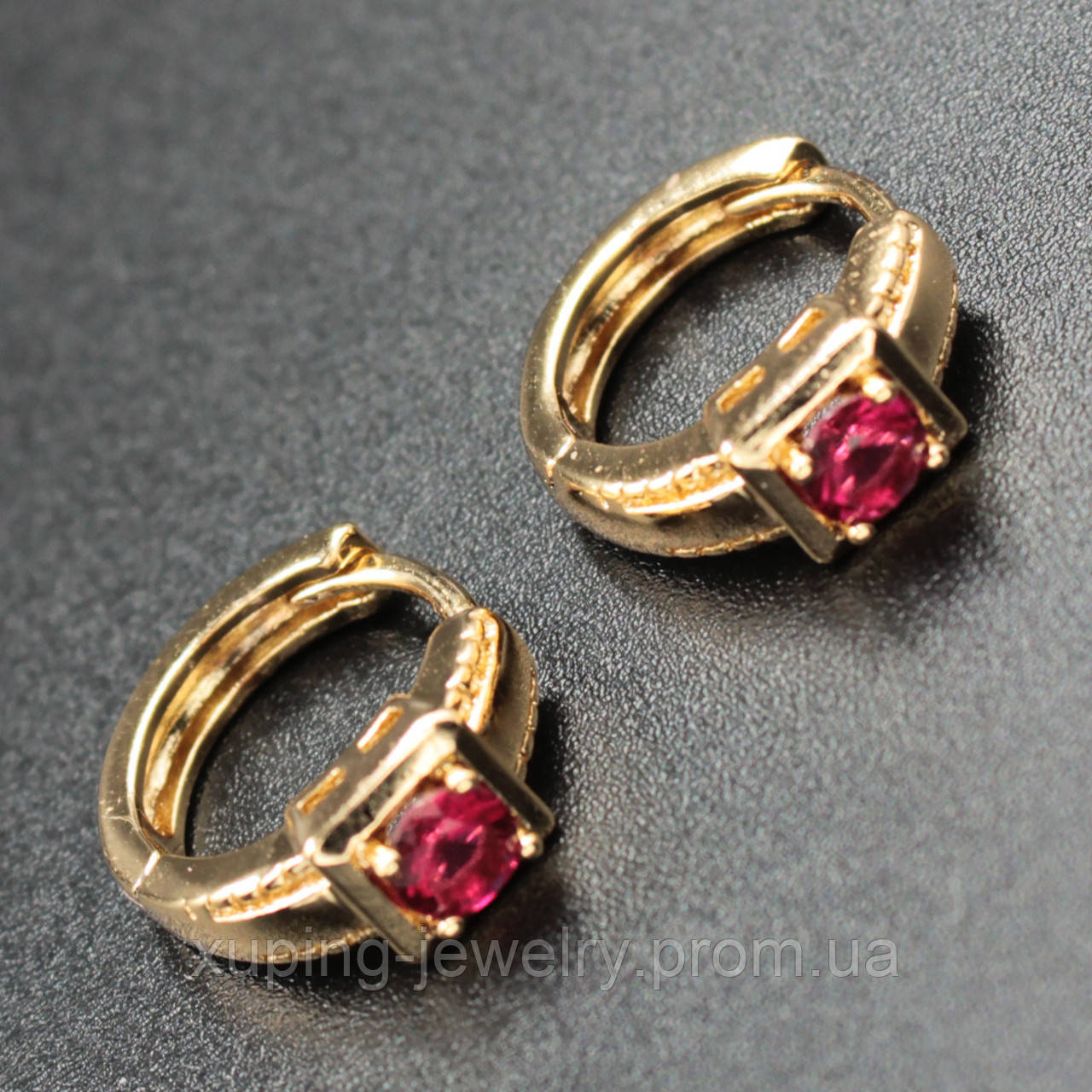 Серьги Xuping Jewerly 18k E092