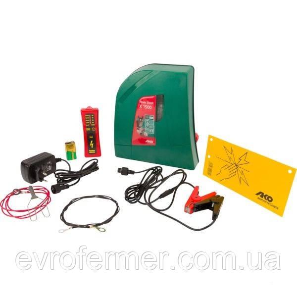 Универсальный электропастух AKO Duo Power X1500, Германия