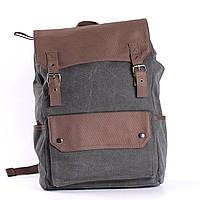 """Большой рюкзак для путешествий, городской, повседневный """"Сейбл Gray"""""""