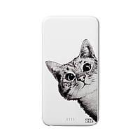 Повербанк ZiZ «Эй, Кот!» 5000 mAh   Power Bank с рисунком, Внешний аккумулятор (44008)