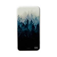 Повербанк ZiZ «Туманный лес» 5000 mAh   Power Bank с рисунком, Внешний аккумулятор (44016)