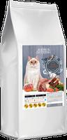 Сухой корм Home Food для взрослых котов с ягненком, лососем и печеным яблоком на развес