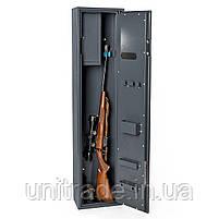 Усиленный Оружейный сейф 130х29х20 см. Vertex Супер защита 2 замка для дома, офиса, в гостиницу для хранения, фото 3