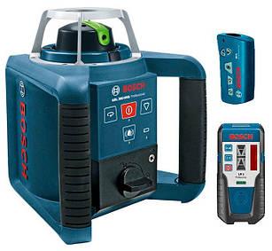 Ротаційний лазерний нівелір Bosch GRL 300 HVG + LR1+ RC1 (0601061701)