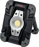 Прожектор Brennenstuhl, Akku LED Arbeitsstrahler, 10W, IP54, аккумуляторный, алюминиевый корпус