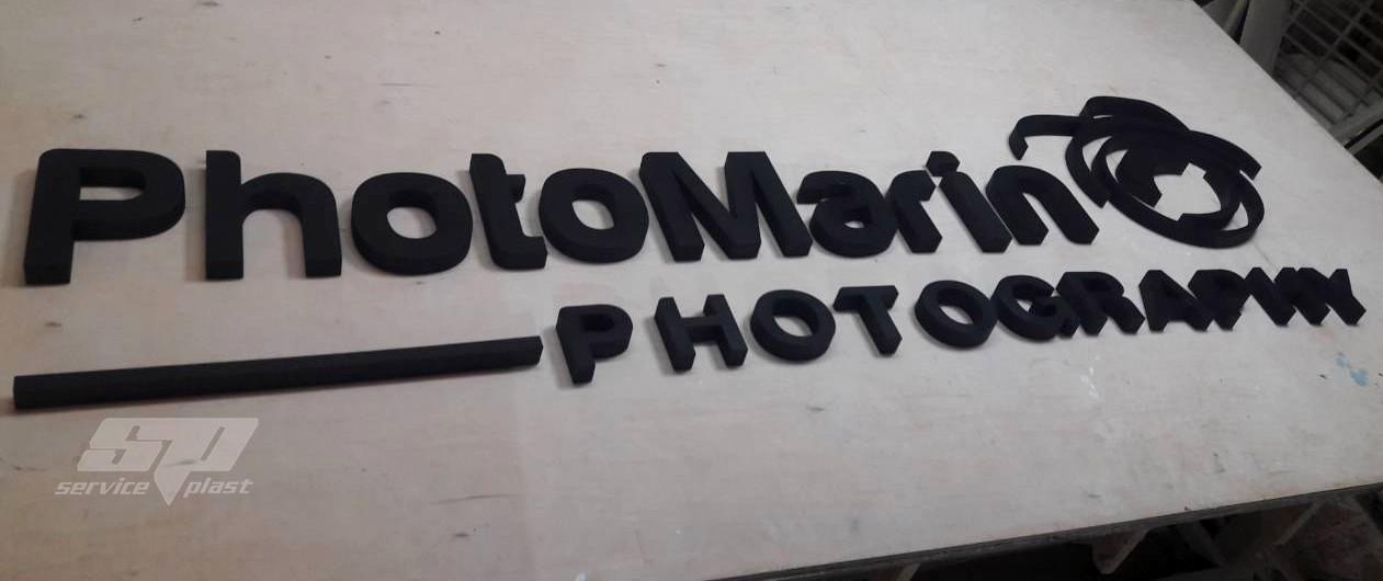 Объемные буквы из пенопласта, буквы из пенополистирола, логотипы из пенопласта
