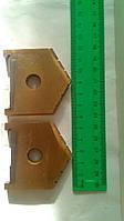 Пластина к  перовому сверлу(перо)D57мм.Р6М5, фото 1