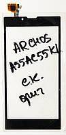 Сенсор (тачскрін ) для Archos A55AC55KL чорний