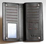 Клатч портмоне Balleri, черный , фото 5