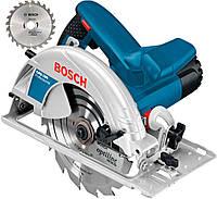 Ручная циркулярная пила Bosch GKS 190 + диск (060162300D)