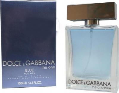 Туалетная вода мужская Dolce&Gabbana The One Blue Man 100ml (копия)