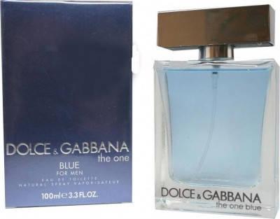 Туалетная вода мужская Dolce&Gabbana The One Blue Man 100ml (копия), фото 2