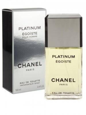 Туалетная вода мужская Chanel Egoiste Platinum 100ml (копия) - Мужская парфюмерия, фото 2