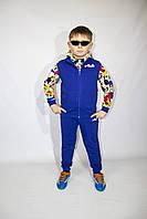 Детский спортивный костюм-тройка Fila для мальчиков дошкольного возраста