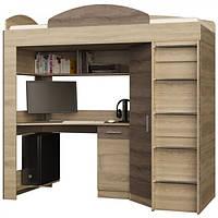 Кровать ЧЕРДАК + письменный стол + угловой шкаф + тумбочка., фото 1