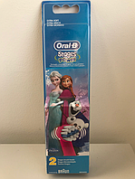 Насадка EB10 для детских зубных щеток Oral-B Stages Power (Frozen) 2 шт, фото 1