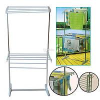 Напольная сушилка для белья Multifunctional Mobile Folding Rack