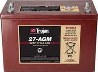 Не обслуживаемая аккумуляторная батарея модель 27-AGM