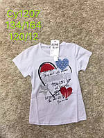Футболка для девочек оптом, S&D, 134-164 см,  № CY1207