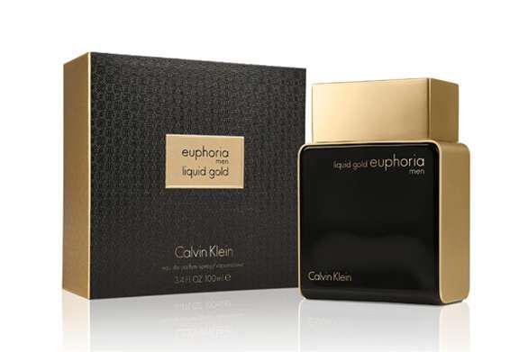 Парфюмированная вода мужская Calvin Klein Euphoria Liquid Gold Men 100ml (копия)