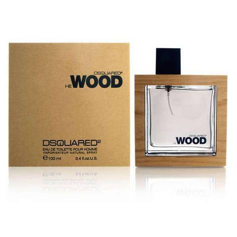 Туалетная вода мужская Dsquared2 He Wood 100ml (копия) - Мужская парфюмерия, фото 2