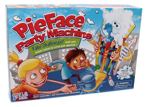 Игровой набор настольная игра Пирог в лицо большая Pie Face Party Machine! (Maxland 1244-1), фото 2