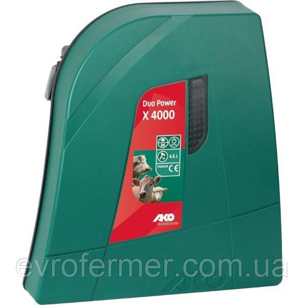 Универсальный электро-пастух AKO Duo Power X4000, Германия