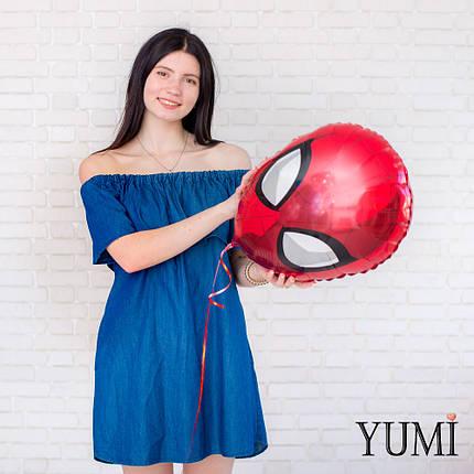 Фольгированный шар Голова Спайдермена, фото 2