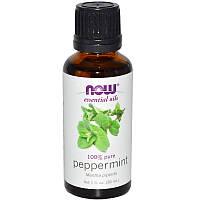 """Эфирное масло перечной мяты NOW Foods, Essential Oils """"Peppermint"""" чистое (30 мл)"""