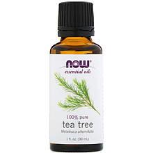 """Эфирное масло чайного дерева NOW Foods, Essential Oils """"Tea Tree"""" чистое (30 мл)"""
