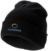 Одношарова шапка з подвійними закладеними краями