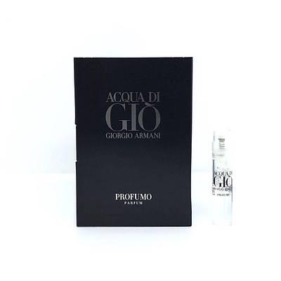 Пробник духов 1,2ml  водяные фужерные GIORGIO ARMANI Acqua di Gio Profumo (Армани Аква Ди Джио Профумо)
