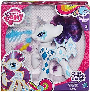 """Поні Рарити з підсвічуванням з серії """"Гарячі серця""""- Rarity, """"Glowing Hearts"""", Little Pony, Hasbro"""