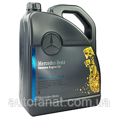 Моторное масло Mercedes-Benz Engine Oil 5W-40 229.5 5л (A000989920213)