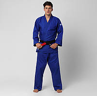 Кимоно для дзюдо Mizuno Hayato 190 см Синий (5054698261606)