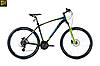 """Велосипед 29"""" Spelli SX-4700 2019 черно синий с зеленым"""