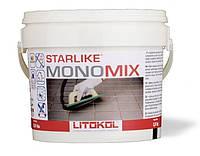 Litokol полиуретановая затирка для плитки Старлайк МономиксSMNGST02.5С.320 серый шелк 2,5 кг