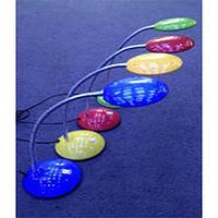 Лампа ученическая 709 S зеленая,красная,синяя