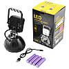 Прожектор светодиодный WJ004-5XPE + мигалка, 4x18650, ЗУ micro USB, 600 LM, фото 2