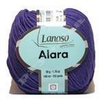 Пряжа Lanoso Alara 210-10 темная сирень